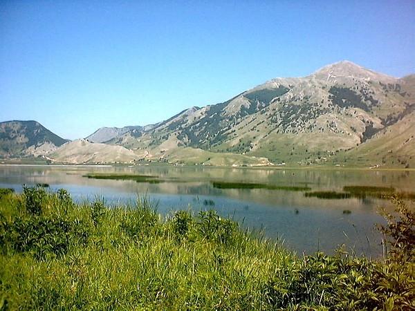 Lago Matese and Mt. Miletto