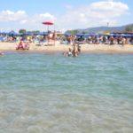Il mare di Baia Domizia e Mondragone è da bandiera blu
