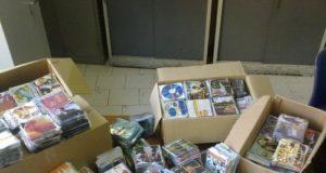 guardia di finanza caserta sequestro cd d dvd