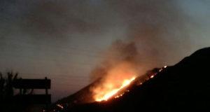 incendio pietravairano