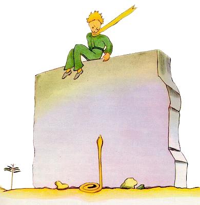Il piccolo principe di saint exup ry nella nuova for Avere una casa costruita sulla terra
