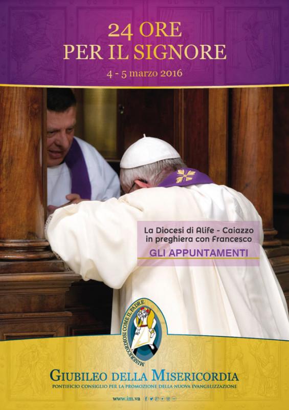 24 ore per il signore torna per tutta la chiesa la - Stampabile la preghiera del signore ...