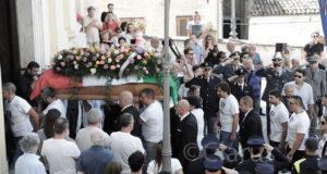 I funerali di Vincenzo D'Allestro a Piedimonte Matese