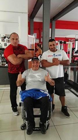 Alife dalla sedia a rotelle alla medaglia d 39 oro il passo for Fisico sedia a rotelle